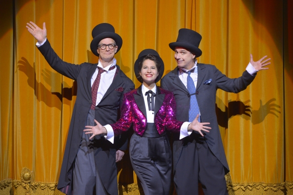 Bill Irwin, Shaina Taub and David Shiner