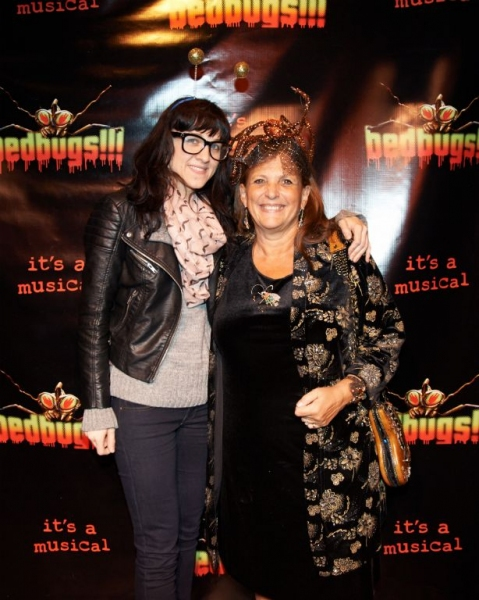 Lena Hall and Dale Joan Young Photo
