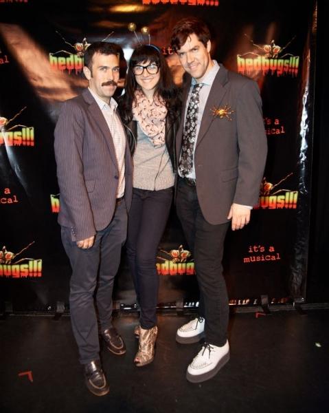 Paul Leschen, Lena Hall and Fred Saute Photo