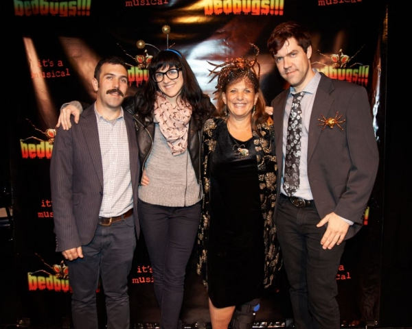 Paul Leschen, Lena Hall, Dale Joan Young and Fred Sauter Photo