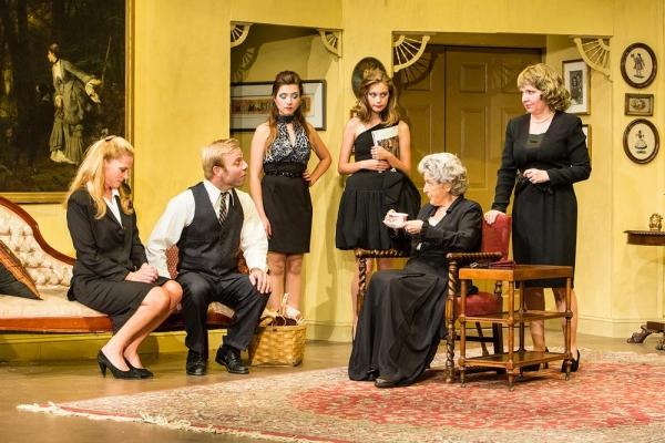 James Hipp as Son, Erin Shaughnessy as Emily, Phair Haldin as Sissie, Ellen Burnett, and Jackie Decho Holm.