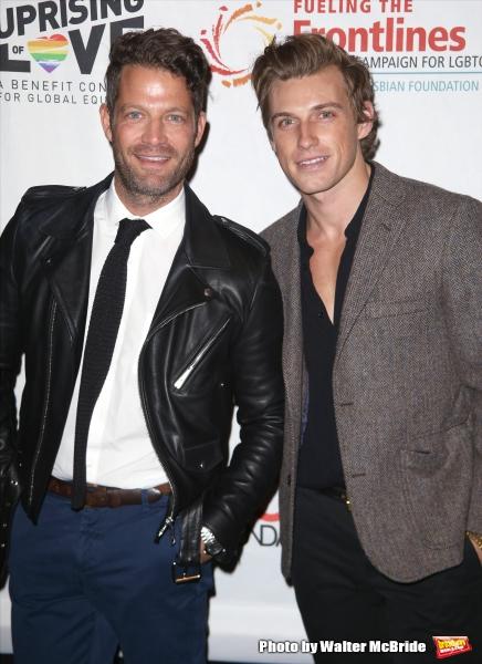 Nate Berkus and Jeremiah Brent