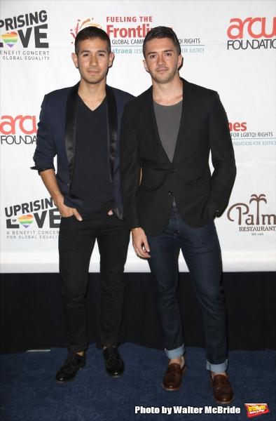 Saul Carrasco and Blake Skjellerup