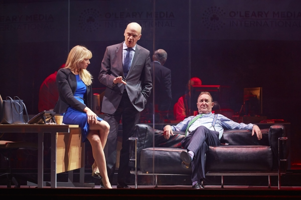 Paige Britain (Lucy Punch), Garth Ellerington (William Chubb) and Paschal O''Leary (Dermot Crowley)