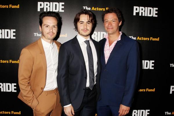 Andrew Scott, Ben Schnetzer and Dominic West