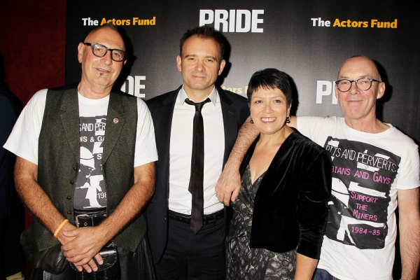 Jonathan Blake, Mathew Warchus, Sian James, and Mike Jackson