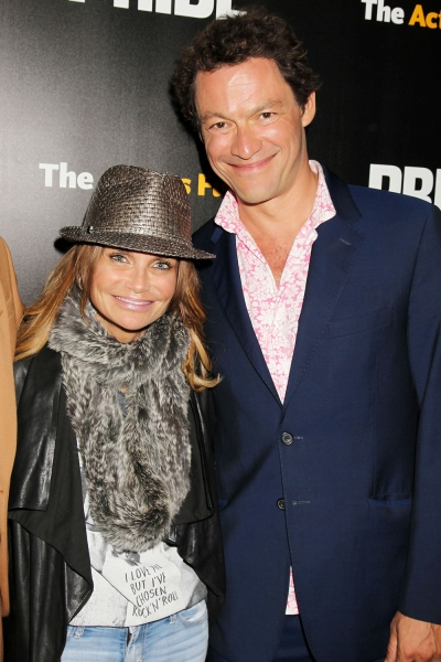 Kristin Chenoweth and Dominic West