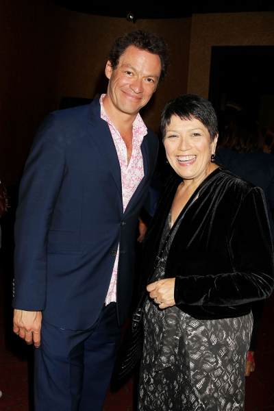 Dominic West and Sian James