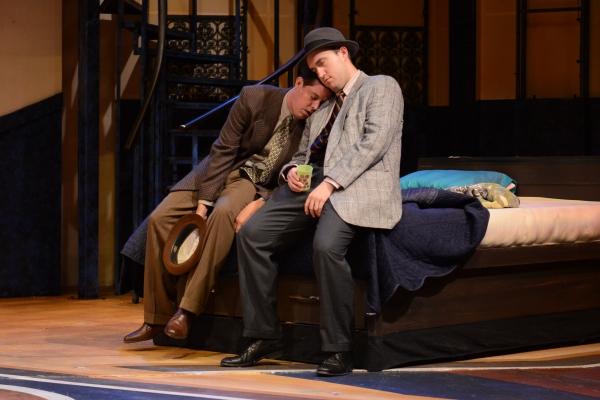Jake Mahler and Scott Stratton as Detectives Photo