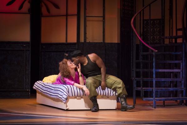Summer Smart as Candela and Eric Lewis as Malik