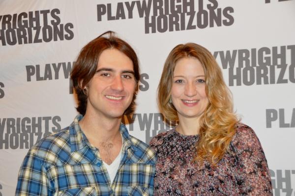 Kip Fagan (Director) and Heidi Schreck (Playwright)