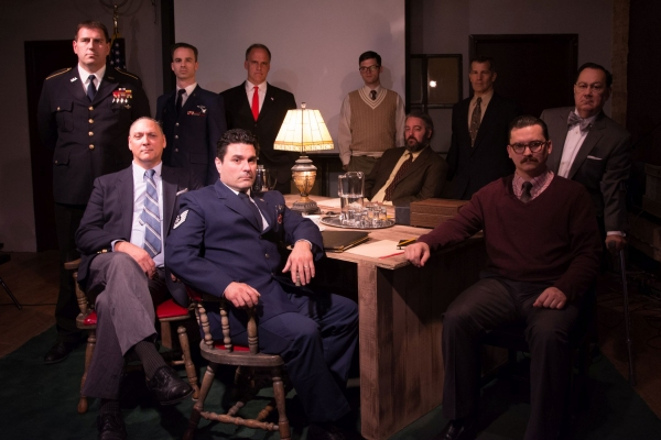 Standing (L to R): Mark Pracht, Stuart Ritter, Tom Hickey, Conor Burke, Joe Mack, Jim Heatherly; Seated (L to R):Dave Skvarla, Carmine Grisolia, Brian Amidei, Lee Russell