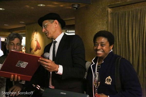 Jeff Goldblum & Michelle V. Agins