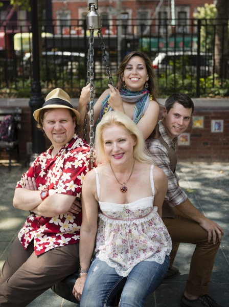Photo Flash: First Look at String Quartet ETHEL at Denison University