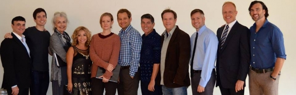 Lawrence Leritz, Matt Doyle, Mary Ann Peil, Jennifer Cody, Elizabeth Morton, Chad Kimball, James Lecesne, Sheffield Chastain, Tony Speciale, Dominic Palillo and Nathan Wright