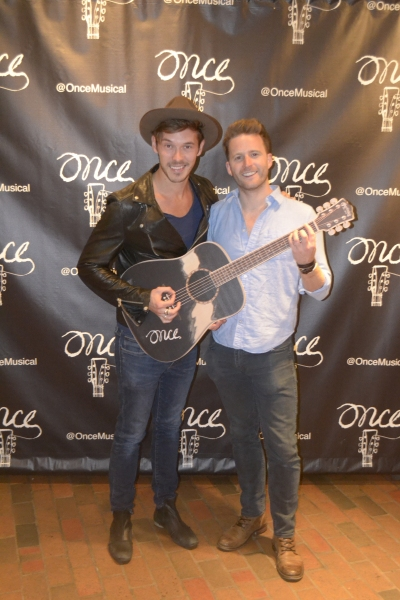 Sam Palladio and Stuart Ward