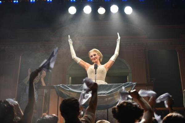 Janine Divita as Eva Peron