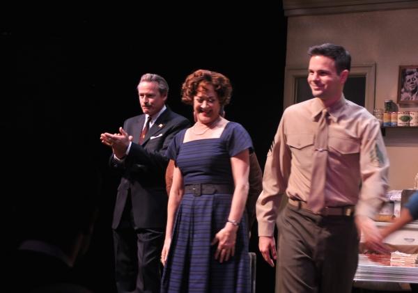 James McCaffrey, Karen Ziemba and Jonny Orsini