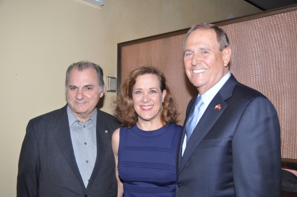 Joe Lisi, Karen Ziemba and Walter Anderson