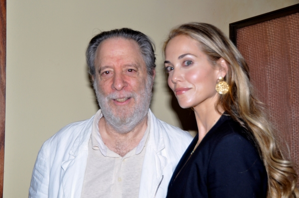 Julian Schlossberg and Elizabeth Berkley Photo