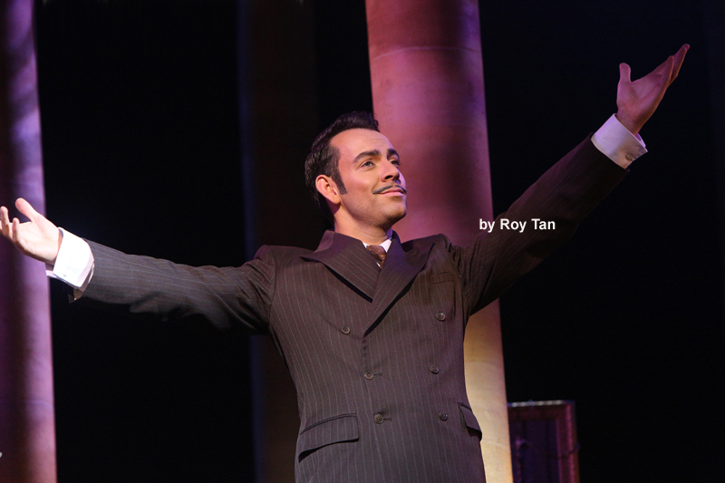 Photo Flash: First Look at Madalena Alberto, Ben Forster and Marti Pellow in EVITA in the West End