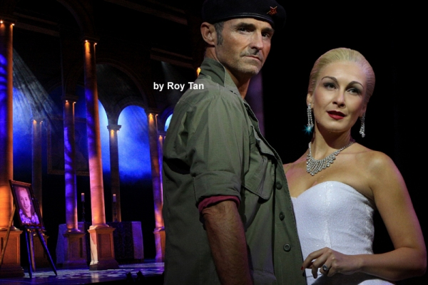Marti Pellow as Che and Madalena Alberto