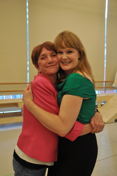 Patti Colombo and Kate Baldwin
