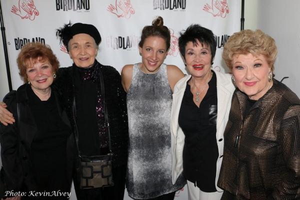 Anita Gillette, Julie Wilson, Jessie Mueller, Chita Rivera, Marilyn Maye
