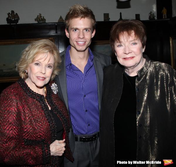Eileen Fulton, Hunter Ryan Herdlicka, Polly Bergen.attending the Joan Rivers hosted b Photo