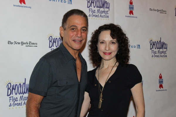 Tony Danza and Bebe Neuwirth