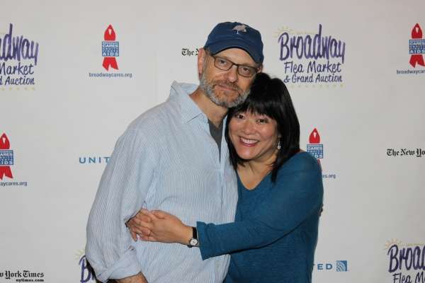 David Hyde Pierce and Ann Harada