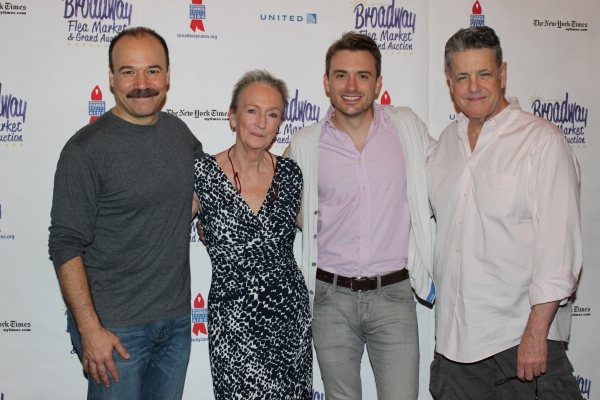 Danny Burstein, Kathleen Chalfant, James Snyder and Jonathan Hammond