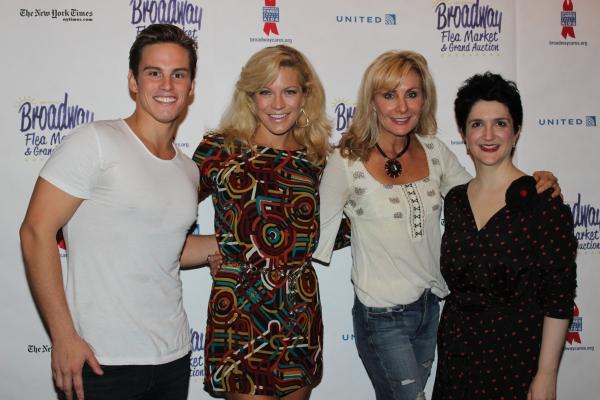 Neil Starkenberg, Felicia Finley, Judy McLane and Lauren Cohn