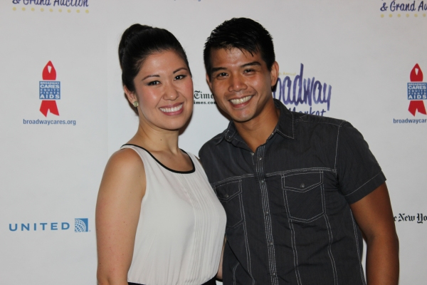 Ruthie Ann Miles and Telly Leung
