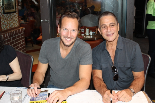 Patrick Wilson and Tony Danza