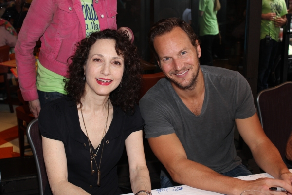 Bebe Neuwirth and Patrick Wilson