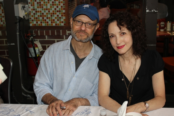 David Hyde Pierce and Bebe Neuwirth