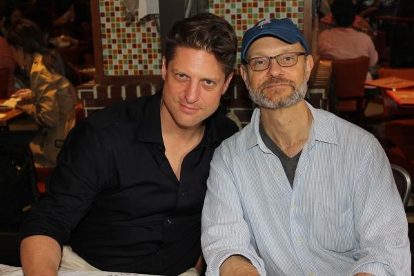 Christopher Sieber and David Hyde Pierce
