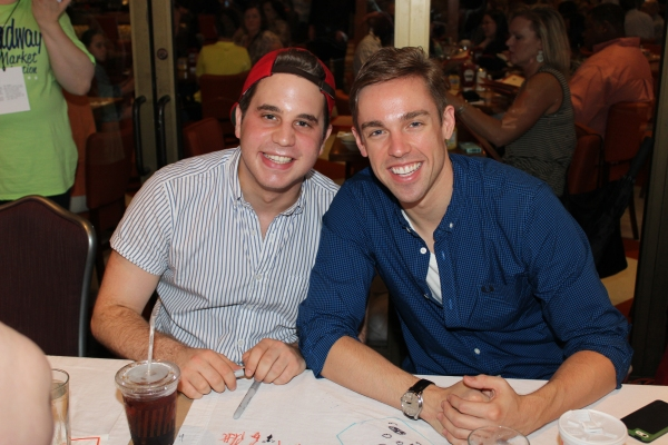 Ben Platt and Nic Rouleau