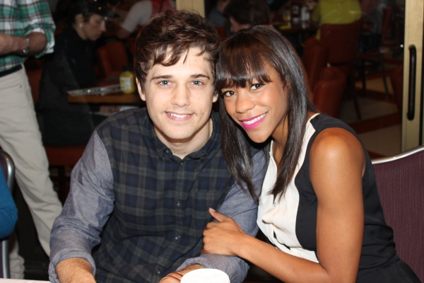Andy Mientus and Nikki M. James