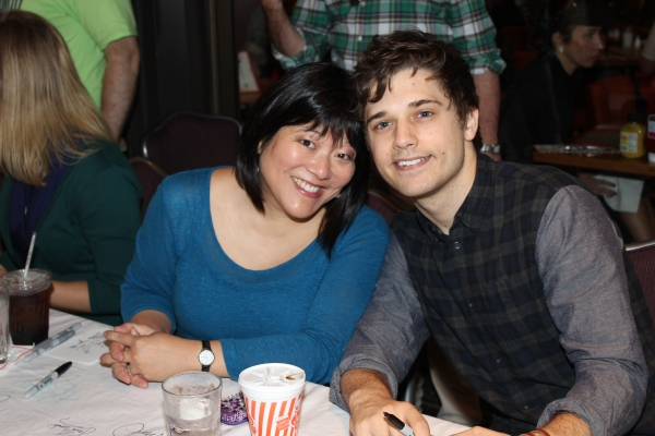Ann Harada and Andy Mientus