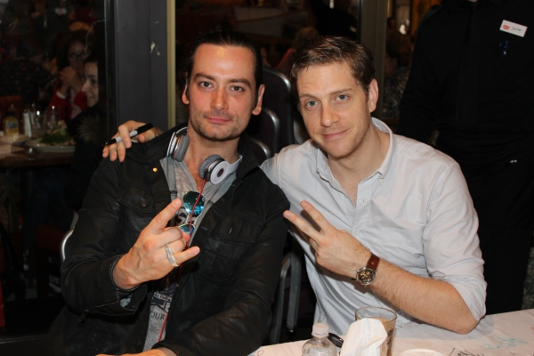 Constantine Maroulis and Andy Kelso