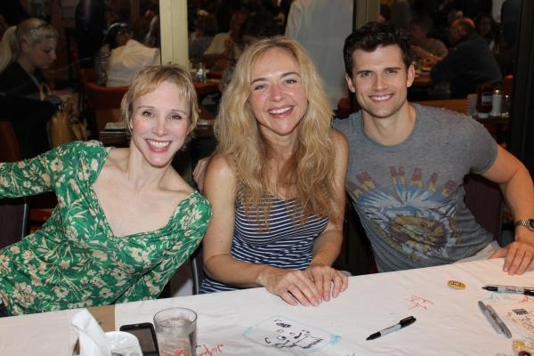 Charlotte d'Amboise, Rachel Bay Jones and Kyle Dean Massey