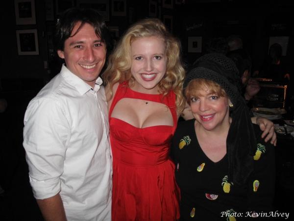 Rob Rudolph, Savannah Brown, KT Sullivan