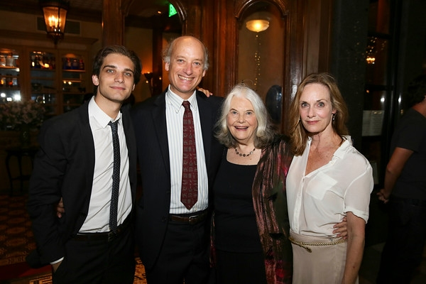 Jeff Ward, Frank Wood, Lois Smith and Lisa Emery