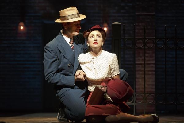 Wayne Alan Wilcox as Jimmy Ray Dobbs and Carmen Cusack as Alice Murphy