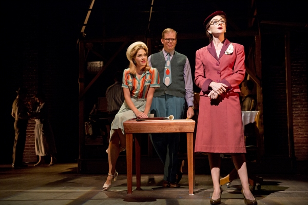 Kate Loprest as Lucy Grant, Jeff Hiller as Daryl Ames, and Carmen Cusack as Alice Murphy