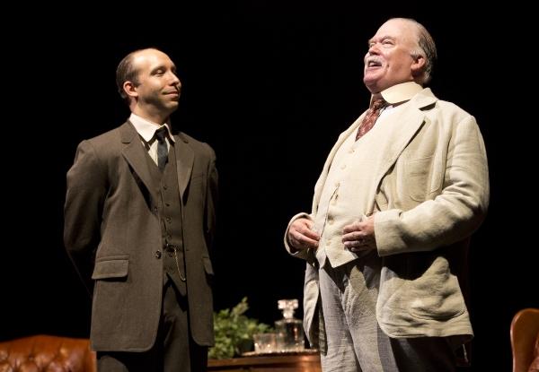 Wayne Duvall as Mayor Josiah Dobbs (right) and Joe Jung