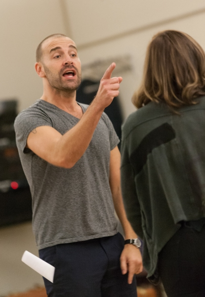 Photo Flash: In Rehearsal with Charlie Pollock, Mary Kate Morrissey and More for Signature Theatre's ELMER GANTRY