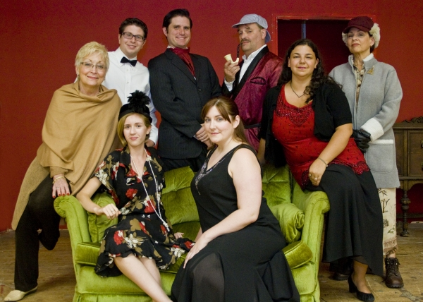 Photo Flash: Meet the Cast of The Minstrel Players' THE GAME'S AFOOT